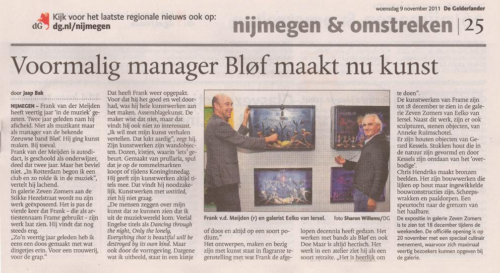 Eelko van Iersel (links) Frank van der Meijden (rechts)
