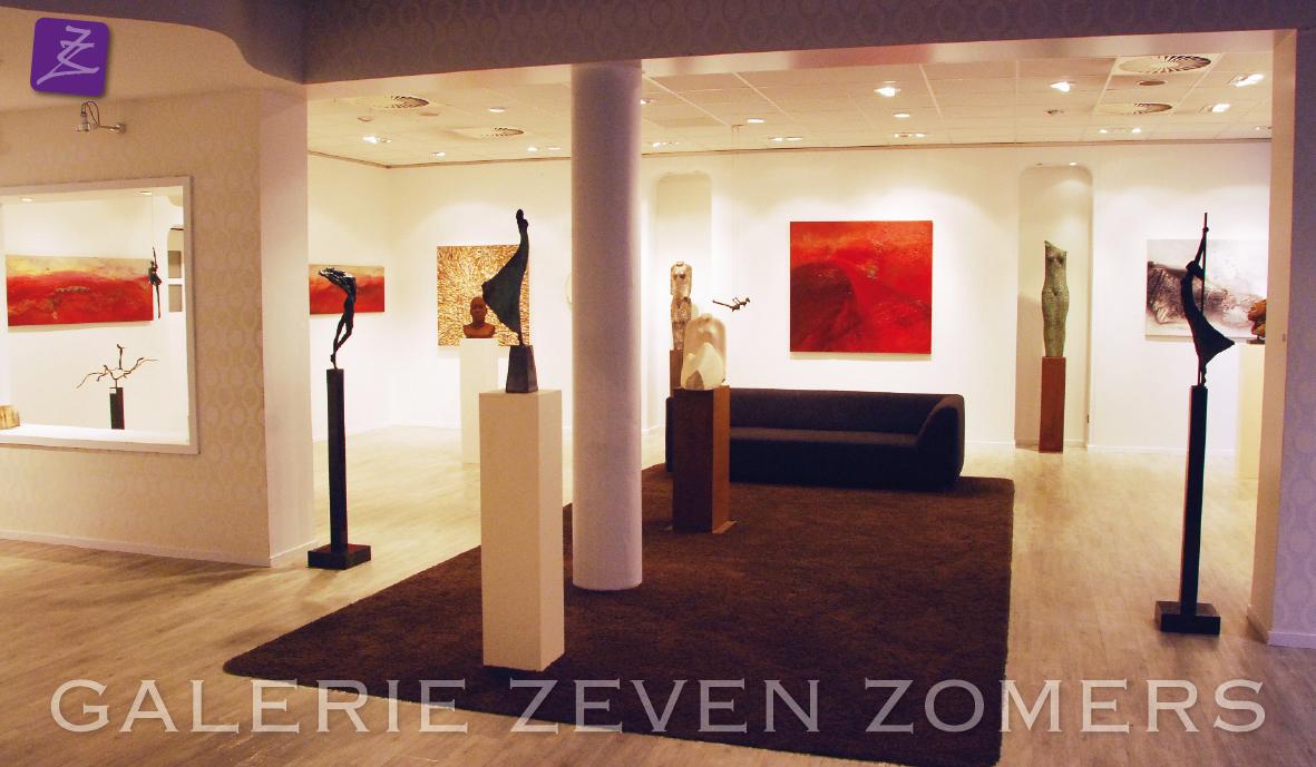 Schilderijen (Eelko van Iersel), natural art (Rob Plattel), bronzen figuren (Anke Birnie, Rose van den Hurk, Rieke van der Stoep)
