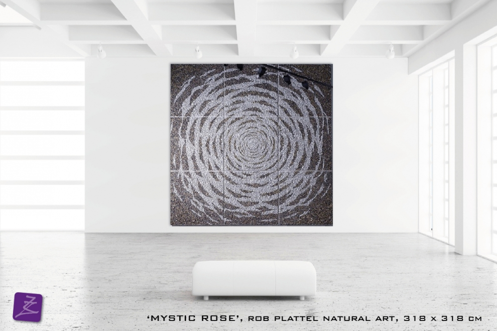 natural art Rob Plattel Mystic Rose (schelpen)