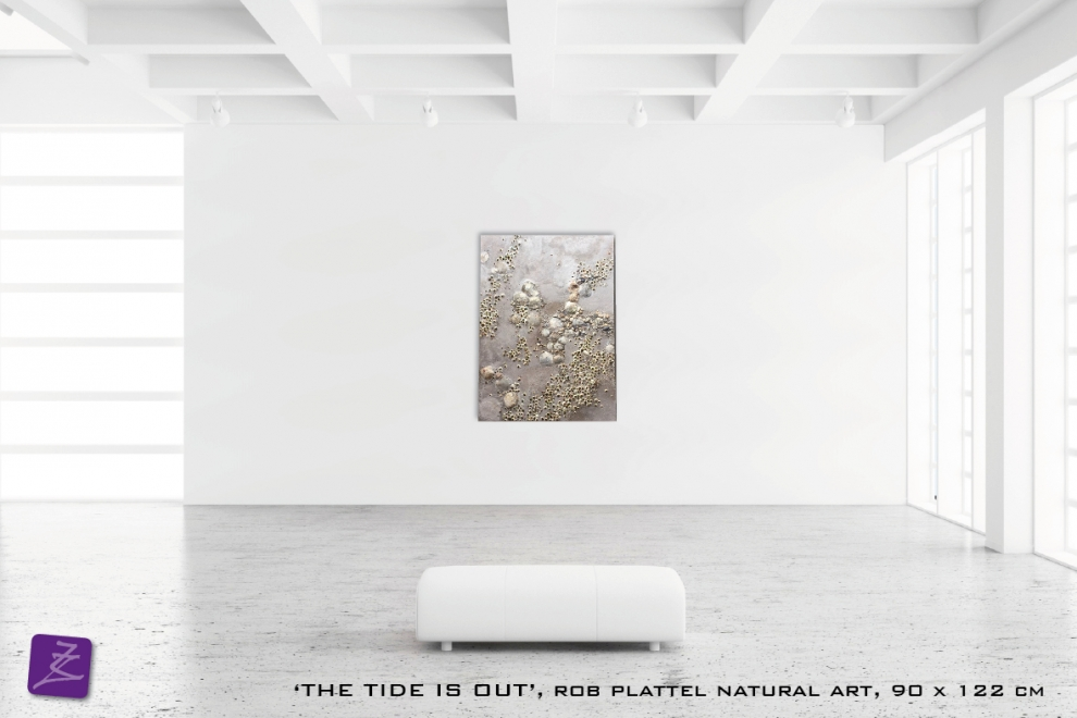 natural art Rob Plattel the tide is out