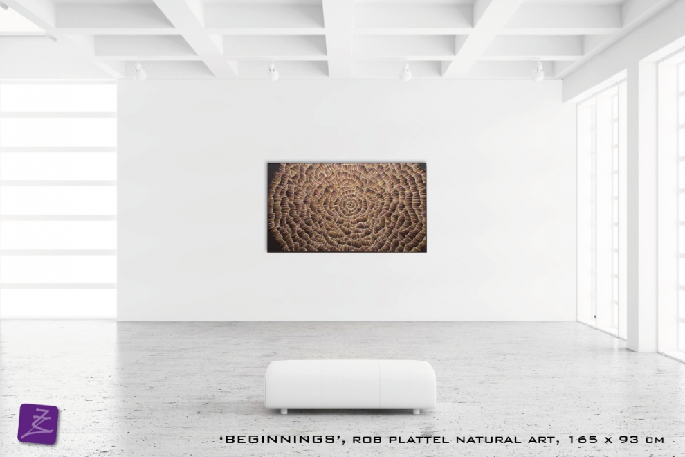 natural art Rob Plattel BEGINNINGS