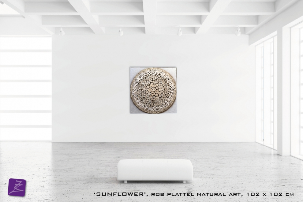 natural art Rob Plattel SUNFLOWER