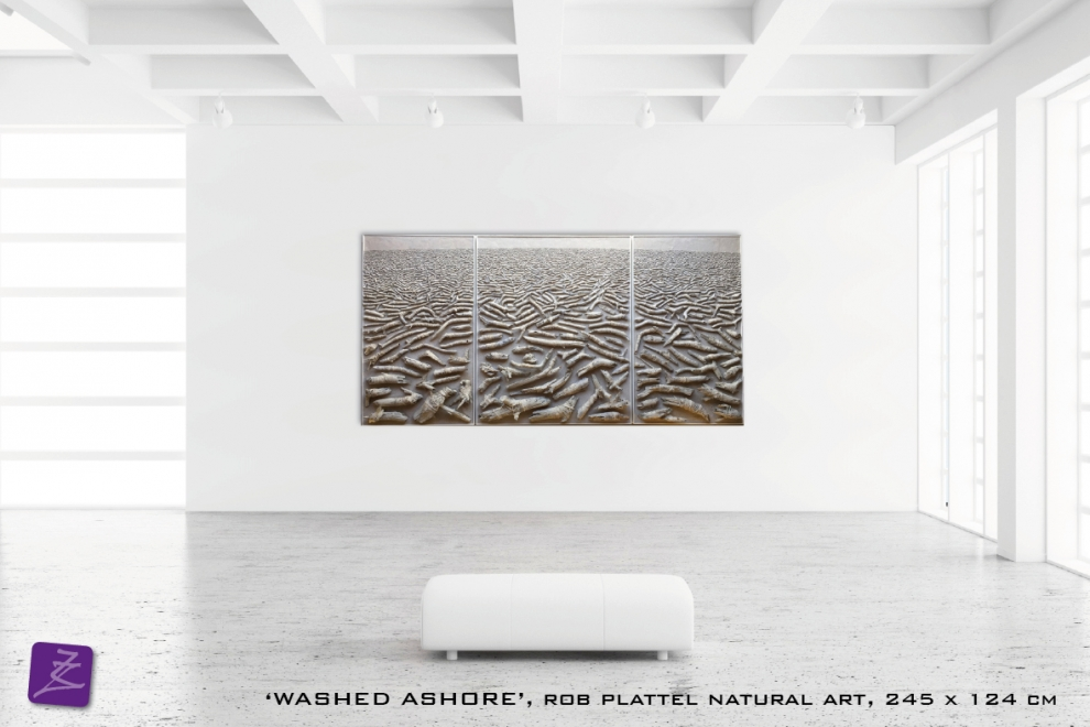 natural art Rob Plattel WASHED ASHORE