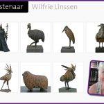 Kunstenaar Wilfrie Linssen
