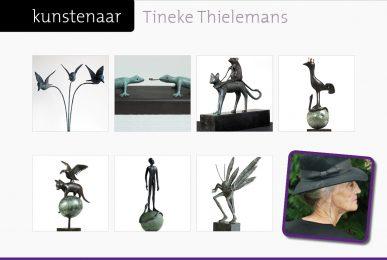 kunstenaar Tineke Thielemans