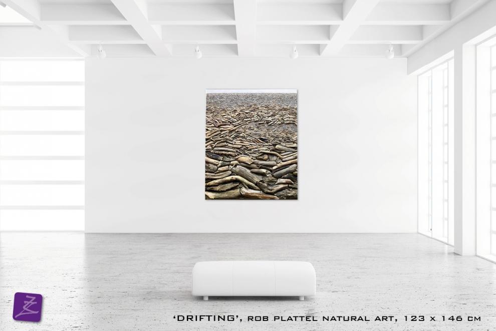 natural art Rob Plattel DRIFTING galerie Zeven Zomers