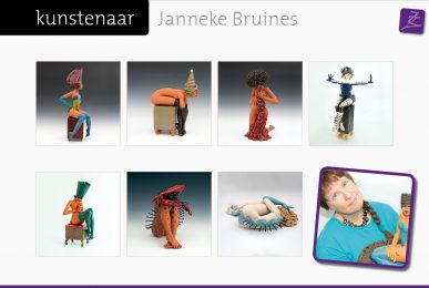 expositie galerie Zeven Zomers kunst Nijmegen Janneke Bruines Eelko van Iersel Rob Plattel natural art Rieke van der Stoep Anke Birnie