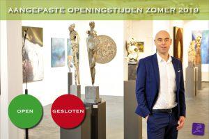 zomer 2019 kunst expositie openingstijden galerie zeven zomers