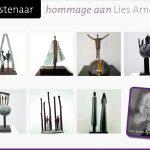 hommage Lies Arnold Aerts Nijmegen expositie bronzen beelden