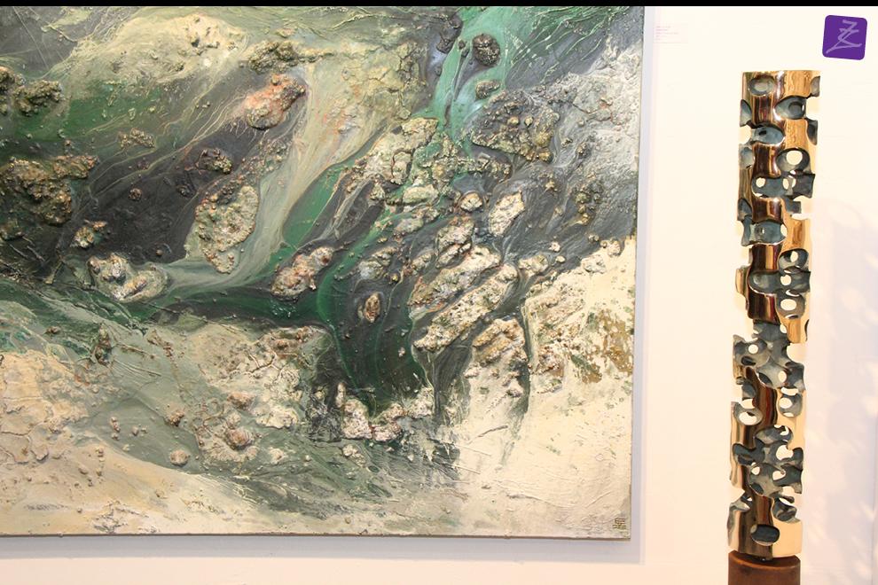 kunst galerie zeven zomers nijmegen brons keramiek glas schilderij natura art modern hedendaags