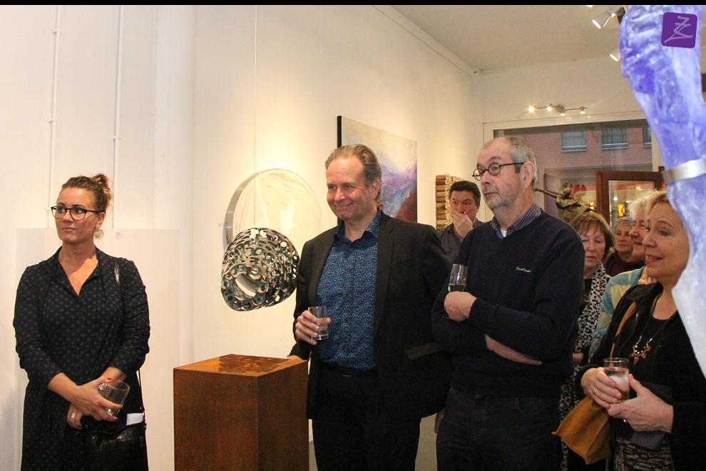 kunst galerie zeven zomers nijmegen brons keramiek glas schilderij natura art modern hedendaags wethouder Noël Vergunst Cultuur Gemeente Nijmegen