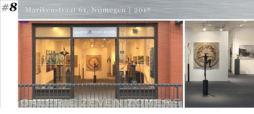 kunst galerie Marikenstraat eerdere locatie nijmegen