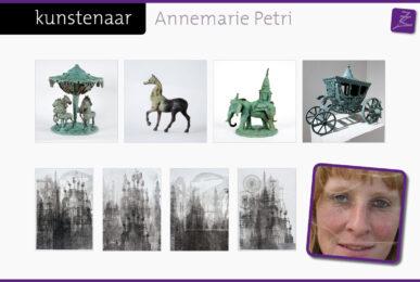 Annemarie Petri sprookjesachtig surrealistisch beelden brons monoprints pulchri