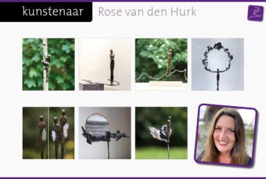 Rose van den Hurk bronzen beelden figuren vrouwen rondingen vrouwelijkheid intimiteit hart houding geraakt pluisje natuur ontkiemen lichtwerker openen liefdevol zacht bloei bescherming uitreiken geboorte rouwverwerking gedenkbeeld